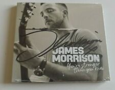 JAMES MORRISON YOU'RE STRONGER THAN YOU KNOW SIGNED CD Sealed