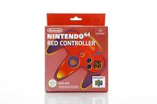 NEW Nintendo 64 Red Controller Joypad Rare Original Retro Vintage NUS-005