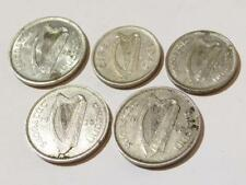 5 x Irish Ireland Eire 3d & 6d Pence Coins 1928 and 1942 #C26
