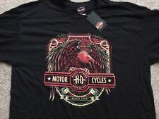 Harley Davidson Bird Of Prey Black Shirt Nwt Men's Large