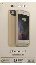 Mophie Juice Pack Air Battery for iPHONE  7/8 Wireless Charging Case Gold NEW