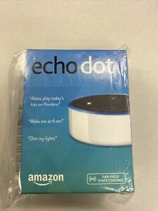 Amazon Echo Dot 2nd Generation - White 2017 NEW Never Opened