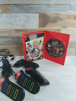 Buzz! The Big Quiz & Buzz! The Hollywood Quiz & 4 Wired Buzzers - PlayStation 2