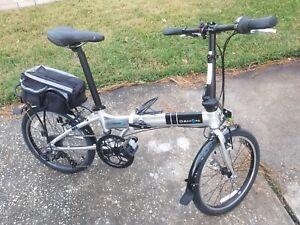 "DAHON MARINER FOLDING BICYCLE 20"" Wheels Bike Rack (Read) #8"