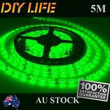 Waterproof 12V Green 5M 3528 SMD 300 Leds LED Strips Led Strip Lights Car Boat