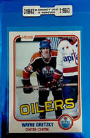 1981 O-Pee-Chee Hockey Wayne Gretzky #106 Mint Card W/Seal (OC) Rough Cut