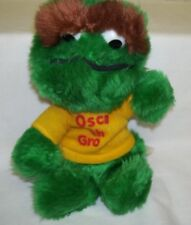 Plush Oscar the Grouch 1982 Knickerbocker 9 inches