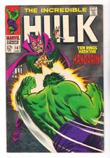 THE INCREDIBLE HULK 107 (VF/NM) THE MANDARIN, HERB TRIMPE ART  (FREE SHIPPING)*