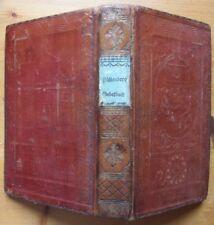 1828 Paderborn Püllenberg Gebetbuch mit schönem Einband