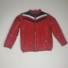 Tommy Hilfiger Youth Boys Jacket Size Large Red