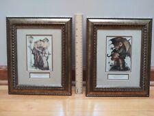 "Authentic M.I. Hummel Print ""Quartet"" ""Stormy Weather"" 1981 Ars Ed West Germany"