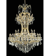 Palace Maria Theresa 36 Light Foyer Crystal chandelier in Gold 46x64