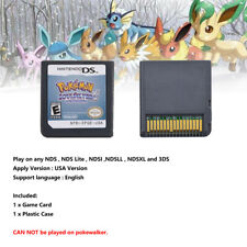 Pokemon SoulSilver Game Card For Nintendo 3DS NDSI NDSLL NDS Lite
