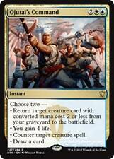 OJUTAI'S COMMAND Dragons of Tarkir MTG Gold Instant Rare