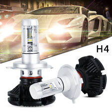 X3 H4 100W 12000LM LED Headlight Turbo Light Bulbs Car Conversion Kit 6000K 2pcs