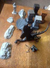 Nazgul, Ringwraith On Fell Beast & Scenery, Ruins. Games Workshop. Plastic.