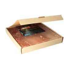 XXL BBQ Grill Salzstein Salzplatte aus Himalayasalz | 20 x 20 x 2,5 cm | 2.2 kg