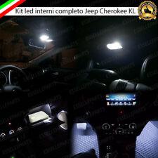 KIT LED INTERNI ABITACOLO COMPLETO JEEP CHEROKEE KL CANBUS 6000K BIANCO GHIACCIO