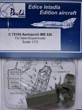 Pavla 1/72 AERMACCHI MB 326 Cockpit Para Italeri #c72103