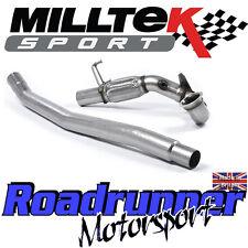 Milltek Golf GTi MK7 Decat Downpipe Exhaust + Leon Cupra 280PS Fits OE Standard