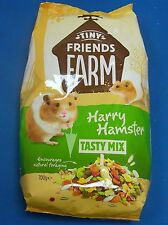 HARRY HAMSTER TASTY MIX FOOD COMPLETE MUESLI PEANUTS SMALL FURRY PET ANIMAL