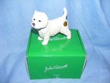 John Beswick Dog West Highland Terrier Westie JBD84 Boxed Figurine Present Gift