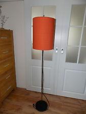 Floorlamp Stehlampe 60er 60iger Lampe orange schlicht zum Danish Design
