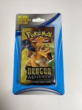 Pokemon TCG Dragon Majesty Booster Pack - Factory Sealed CHARIZARD ART!