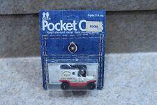Vintage Tomy Tomica Pocket Cars No. 134-F13 Model T Ford Delivery Truck On Card