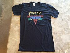 Vintage Van Halen - Hebrew Script - Joey Custom  - Paper Thin Graphic T-Shirt!