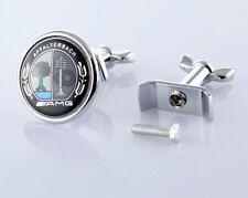 Black Front Hood Bonnet Badge Emblem LOGO Affalterbac AMG C W204 W221 W220 W211
