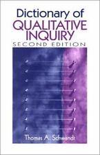 Dictionary of Qualitative Inquiry , Schwandt, Thomas A.