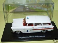 SIMCA Break MARLY Ambulance  Eligor 1/43