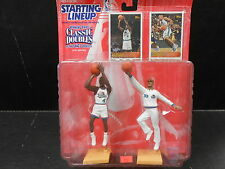 Joe Dumars Grant Hill Pistons 1997 NBA One on One  SLU Starting Line Up MOC