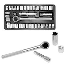Standard SAE & Metric 40 Piece Socket Set 3/8