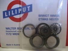 LILIPUT # 54728 Radreifen und Speichenrad (6 Stück) für H0 ~AC Sonderpreis!
