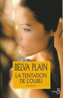 Livre la tentation de l'oubli  Belva Plain book