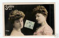 ARTISTE/ Mlle SERGY  ,Cliché REUTLINGER ,en 1905