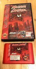 Maximum Carnage Sega Genesis - Authentic Game + Case - Red Cart - Look!