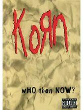 Korn que luego ahora? rendimiento de video filmación Ventilador Faget Dios mío malvados DVD de música