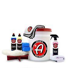 Adam's Polishes Adam's Basic Wash & Wax Kit