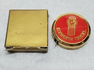 Vintage MIB Kenworth Trucks Trucking Miniature Tape Measure