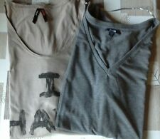 LOT 2 TEE SHIRT MATERNITE TAILLE 38/40