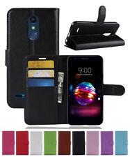 For LG K30 X410TK / K10 Plus / K10 Alpha /X4/K11 2018 Leather wallet Case Cover