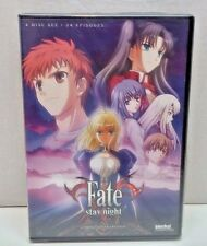 Fate Stay Night Complete Collection, 4 DVD Set 24 Episode Sentai Filmworks Anime