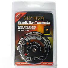 Stove Thermometer - Magnetic Heat Powered Stove Flue Fan Temperature Gauge