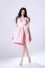 "1:6 Clothes Accessory Pink Evening Dress Model For 12"" Female Figure"