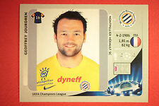 PANINI CHAMPIONS LEAGUE 2012/13 N. 139 JOURDREN MONTPELLIER BLACK MINT!