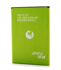 Battery JY-S3 for JIAYU S3 smartphone, 3000/3100mAh rechargeable
