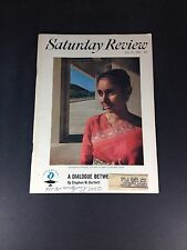 Saturday Review July 18, 1964 A Dialouge Between Cultures By Stephen W. Bartlett